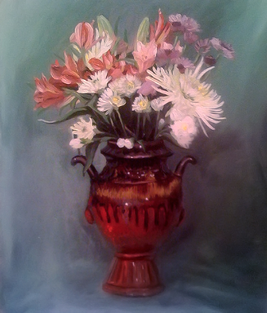 my brush with oils